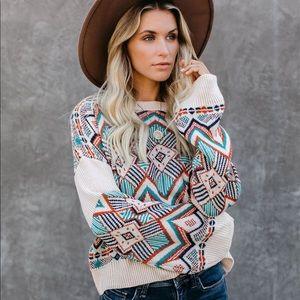 Vici Bandera Knit Sweater